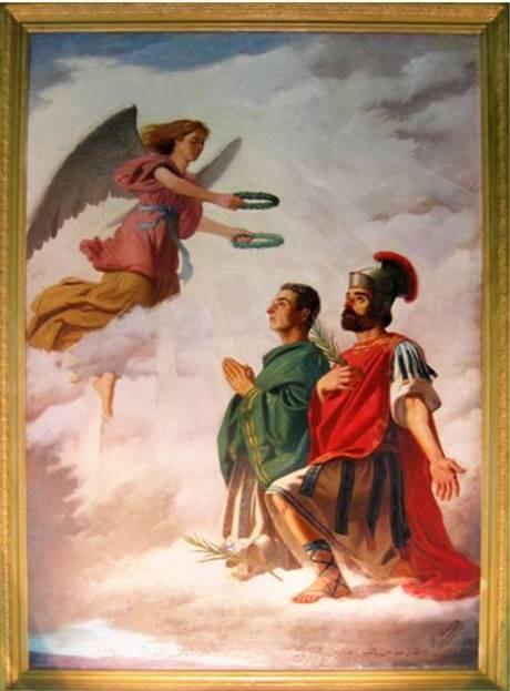 القدّيسَين الشهيدَين سركيس وباخوس