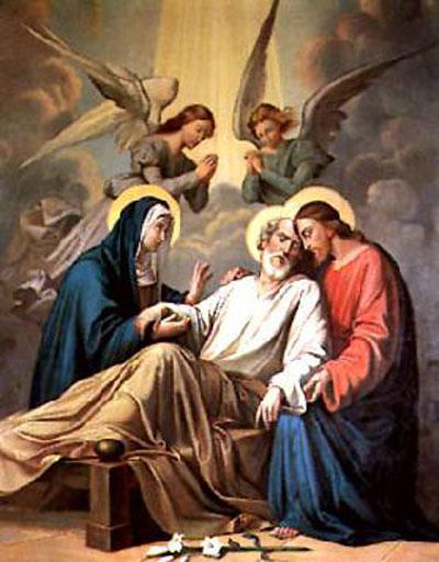 سبع نعم تطلب من القديس يوسف لنيل الميتة الصالحة