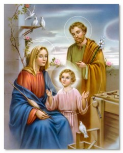 Holy Family (jesus Saint Mary and Saint Joseph)