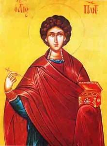 القديس بنداليمون الطبيب او اسيا العجائبي