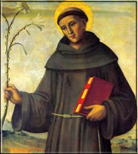 فعل التكريس للقديس أنطونيوس البادوي