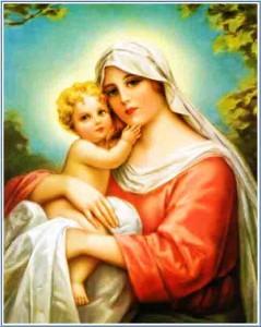 صلاة الصباح لمريم العذراء المباركة