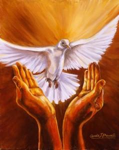 فعل تكريس للروح القدس