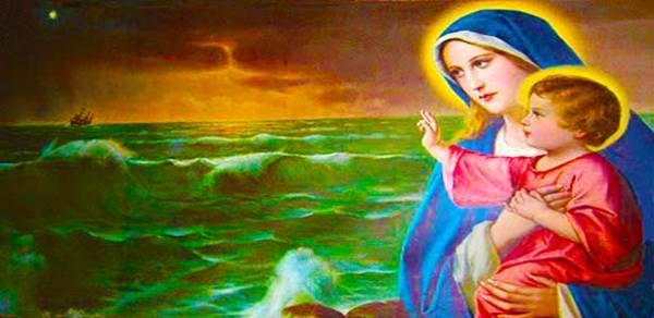 صلاة الى مريم نجمة البحر