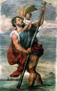 صلاة للقديس كريستوفر حامل المسيح و شفيع المسافرين