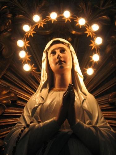 صلاة المساء لأمنا العذراء مريم