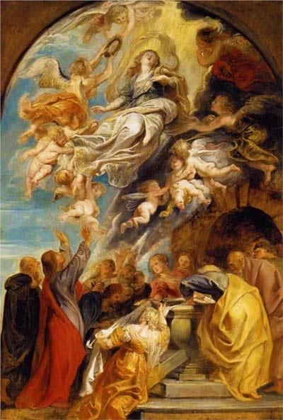 قصة انتقال امنا مريم العذراء إلى السماء