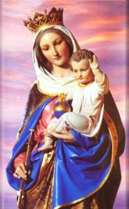 مديح لمريم العذراء