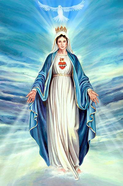 صلوات للقديسة مريم العذراء موقع القديسة رفقا Part 2