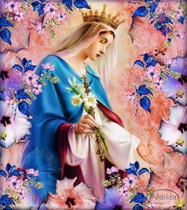 يا أمنا يا مريم، كوني دومًا بيننا
