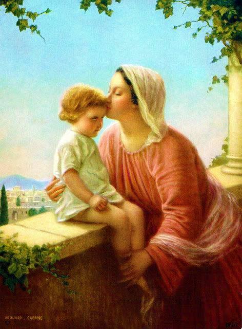 أيّتها البتول مريم إني أسلّم ذاتي إلى رأفتك