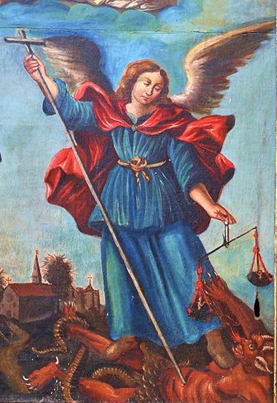 اعجوبة مار ميخائيل في مدينة كولوسي