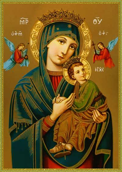 صلاة لمريم أم المعونة الدائمة