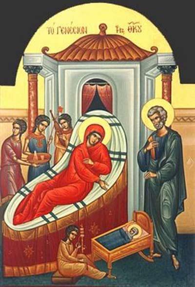 افراميات ميلاد العذراء مريم