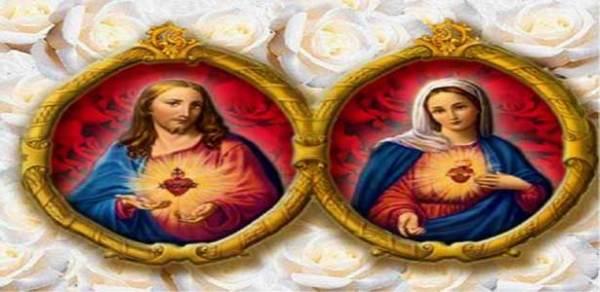 السلام لقلب مريم