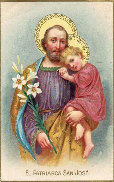 لماذا يحمل القديس يوسف في كل صوره زنبقا أبيض ؟
