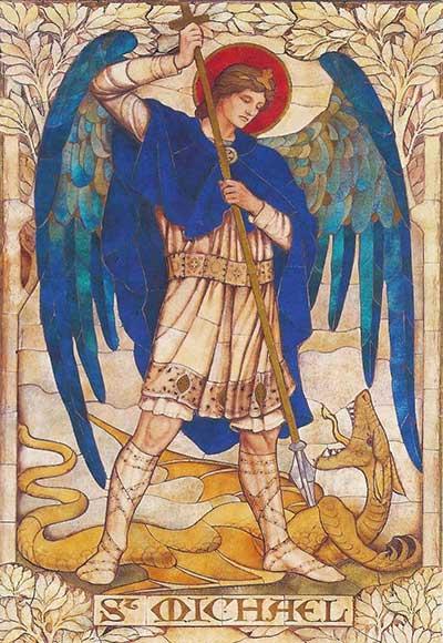 صلاة للقديس ميخائيل رئيس ميخائيل
