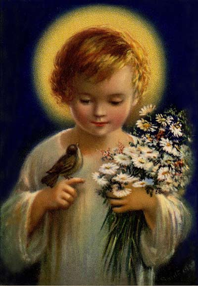 صلاة للطفل يسوع