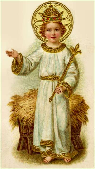 تساعيّة الطفل الالهي - طفل براغ