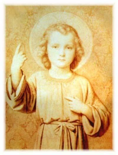 تساعية الطفل يسوع لطلب الشفاء