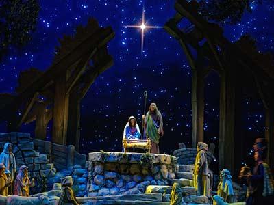 تأمل في أشخاص المغارة (المغارة، النجم،الذهب والبخور والمرّ)