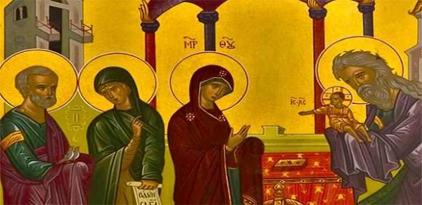 عيد دخول السيد المسيح إلى الهيكل (2 شباط)