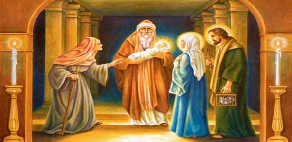 عيد تقدمة الربّ يسوع الى الهيكل