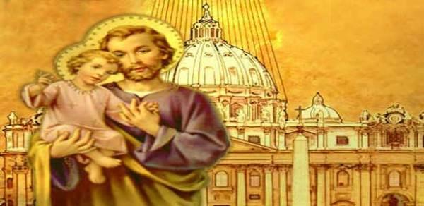 القديسة تريزيا الأفيلية في القديس يوسف