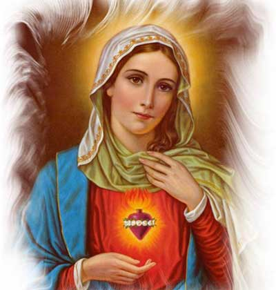 مريم العذراء تحافظ على ابنائها