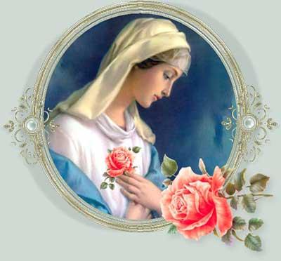 مريم العذراء شهر أيار