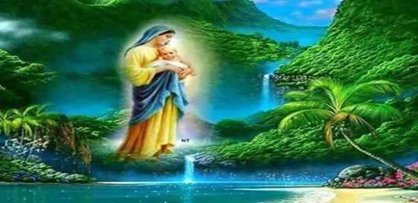صلاة علمّتها العذراء مريم للقديسة جيرودوت