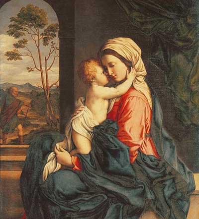 مريم العذراء الشهر المريمي