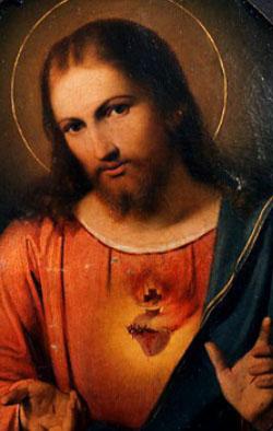 صلاة تكريس النفس لقلب يسوع المسيح