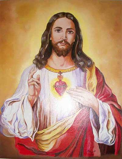 الشكر لقلب يسوع الأقدس