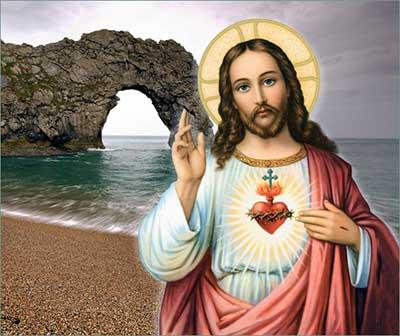 محبة قلب يسوع تكمل بمحبة الصليب