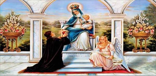 تفاحة القديس المريمي لويس ماري غرينون