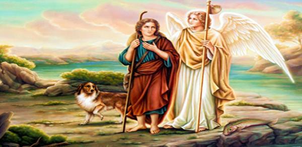 الملاك روفائيل وطوبيا