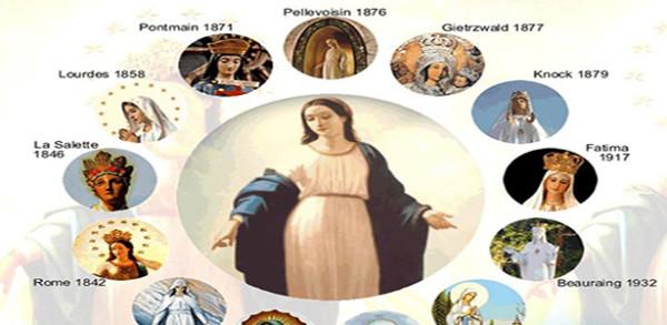 إكرام مريم العذراء وظهوراتها