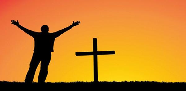 صلاة امام الصليب المقدس