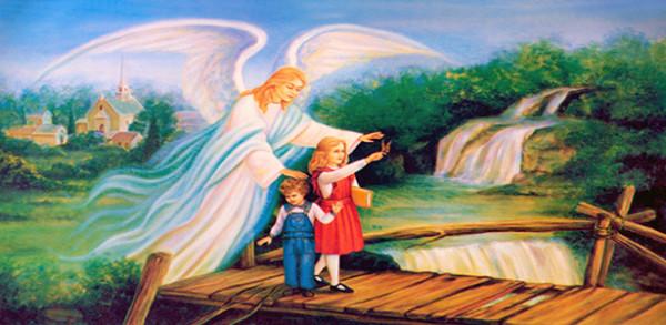 كلام العذراء عن الملاك الحارس