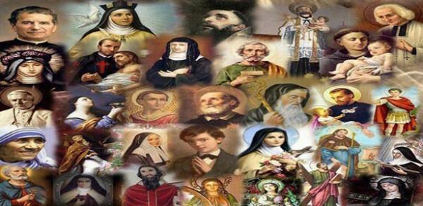 صلاة تتلى في عيد جميع القديسين