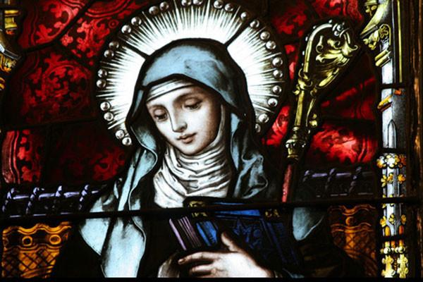 القديسة جيرترود